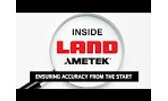Inside AMETEK Land - Ensuring Accuracy from the Start - Video