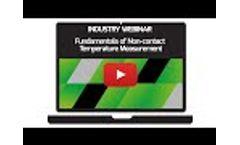 Fundamentals of Non-contact Temperature Measurement - Industry Webinar - Video