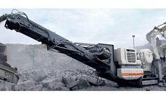 Metso Lokotrack - Model LT120 - Mobile Crushing Plant