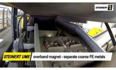 Basic Shredder Downstream solutions with STEINERT - Video