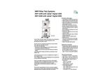 welas - MFP 1000 and MFP 2000 - Modular Filter Test System Brochure