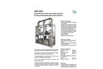 PALAS - APM 2005 - Rig For Permeable Materials For The Particle Penetration Measurement Brochure