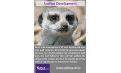 Management Systems Auditor Training & Development