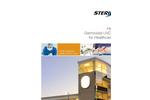 High Output  Germicidal UVC Solutions for Healthcare Facilities Brochure