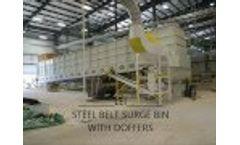 Surge Conveyor with Doffers - Video