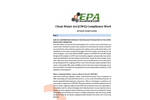 Clean Water Compliance Workshop Agenda Brochure