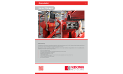 Redoma GR Series Single Granulator - Up to 1700 kg/h -Brochure