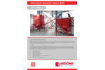 Redoma ESS Series Electrostatic Separation System - Up to 1350 kg/h - Brochure