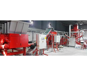Redoma - Model Powerkat Series - Small Plant for Cable Recycling