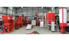 Redoma - Model Firefox and Firefox Turbo - Highly Automated and Efficient Cable Recycling Plant