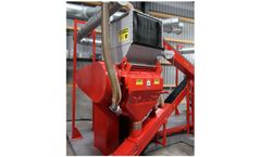 Redoma - Model GR Series - Single Cable Granulator - Up to 1700 kg/h