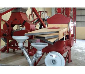 Redoma - Model SM Series - Screening Machine for Cable Recycling Plants - Up to 1300 kg/h