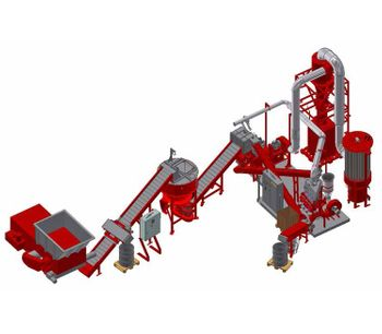 Redoma - Model Powerkat B - Cable Recycling Plant - Up to 1000 kg/h