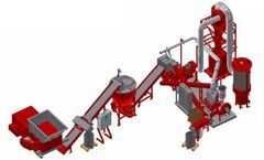 Redoma - Model Powerkat C - Cable Recycling Plant - Up to 750 kg/h