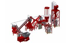 Redoma - Model Firefox A - Cable Recycling Plant - Up to 1300 kg/h