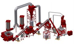 Redoma - Model Firefox A Turbo - Cable Recycling Plant - Up to 1700 kg/h