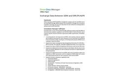 Green Data Manager Software (GDM) Brochure