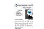 ESC - Model Z-800XP - Portable Desktop Ammonia Monitor - Brochure