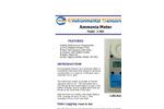 ESC - Model Z-800 - Hand Held Ammonia Monitor - Brochure