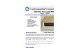 ESC - Model Z-400XP - Portable Desktop Chlorine Monoxide Meter - Brochure