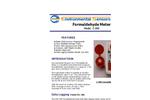 ESC - Model Z-300 - Hand Held Formaldehyde Monitor - Brochure