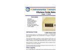 ESC - Model Z-100XP - Portable Desktop Ethylene Oxide Monitor - Brochure