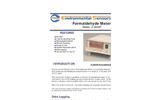 ESC - Model Z-300XP - Portable Desktop Formaldehyde Meter - Brochure