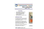 ESC - Model Z-700 - Hand Held Nitric Oxide Monitor - Brochure