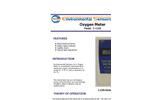 ESC - Model Z-1100 - Hand Held Oxygen Monitor - Brochure