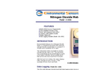 ESC - Model Z-1400 - Hand Held Nitrogen Dioxide Meter - Brochure