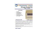 ESC - Model Z-1400XP - Portable Desktop Nitrogen Dioxide Monitor - Brochure