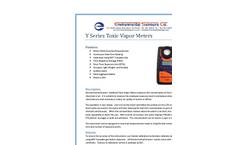 ESC - Model Y Series - Toxic Vapor Meters - Brochure