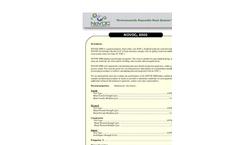 Novoc - Model 8000 - Modified Polyester Resin - Datasheet