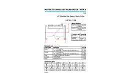 AWWA - C-508 - Flexible Disc Check Valves Brochure