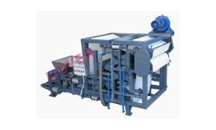 DY - Model NSP1500P4 - New Powerful Belt Filter Press for Spent Grain Dewatering