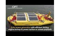 Meet OPT`s hybrid PowerBuoy - Video