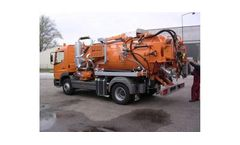Model CSC 7000 - Combined Sewer Cleaning Truck