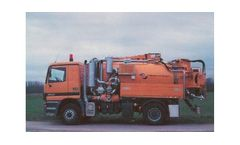 Model CSC 10000 - Combined Sewer Cleaning Trucks