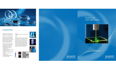 Active and Passive Glasses for Lasers Brochure