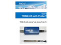 TRIME - Model ES - On-Line Moisture Measurement System Brochure