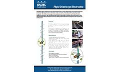 Baltec - Rigid Discharge Electrodes - Datasheet