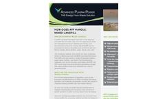 Gasplasma Landfill Mining Solution Datasheet