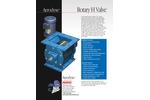Aerodyne Rhino - Model H - Rotary Valve Brochure