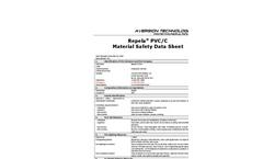 Repela Pvc Material Safety Data Sheet