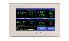 TV2 - Cleanroom Monitor - Pressure, Temp, RH
