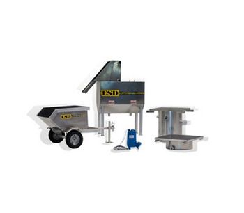 Grass Clipping Separator System