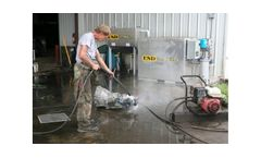 ESD Waste2Water - Model 750 - In-Ground Wash Water Auto Recycler System
