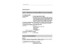 Accu-Tab - Chlorine Wastewater Tablets- SDS Sheet