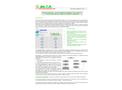 Version InfoCAP3000 - PC Program (Windows) Software - Datasheet