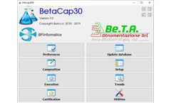 Version InfoCAP3000 - PC (Windows) Software for Automating Linearity Tests